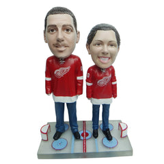 Detroit Red Wings Male and Female Fans