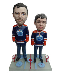 Edmonton Oilers Father and Son Fans