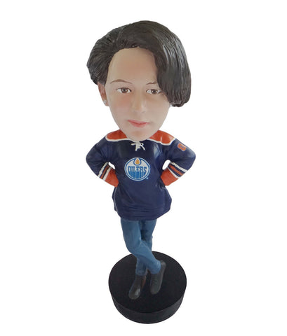 Edmonton Oilers Female Fan Standard Base