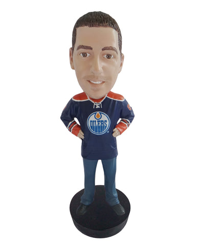 Edmonton Oilers Male Fan Standard Base