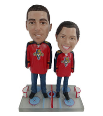 Florida Panthers Male and Female Fans