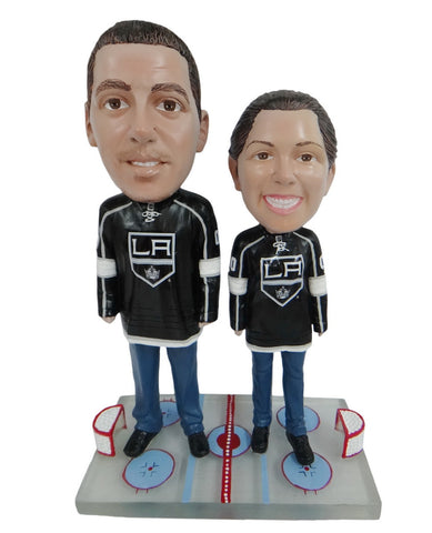 Los Angeles Kings Male and Female Fans