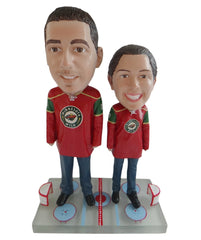 Minnesota Wild Male and Female Fans