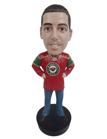 Minnesota Wild Male Fan Standard Base