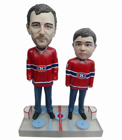 Montreal Canadiens Father and Son Fans
