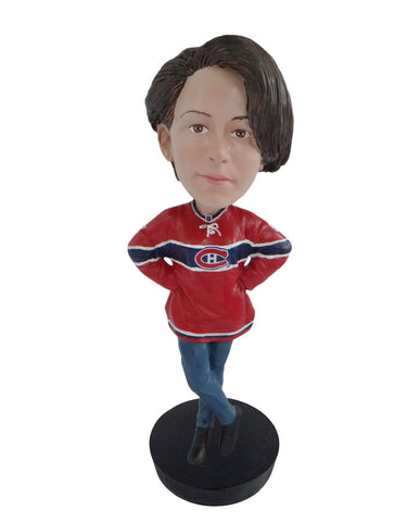 Montreal Canadiens Female Fan Standard Base