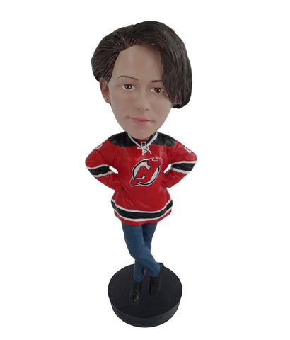 New Jersey Devils Female Fan Standard Base
