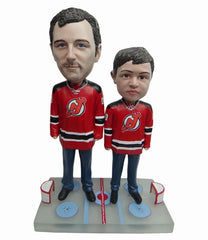 New Jersey Devils Father and Son Fans