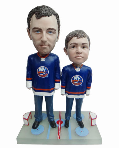 New York Islanders Father and Son Fans