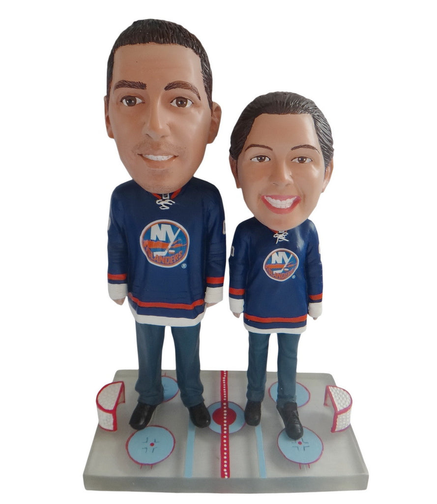 New York Islanders Male and Female Fans
