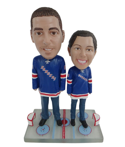 New York Rangers Male and Female Fans