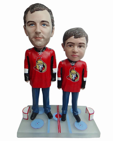Ottawa Senators Father and Son Fans