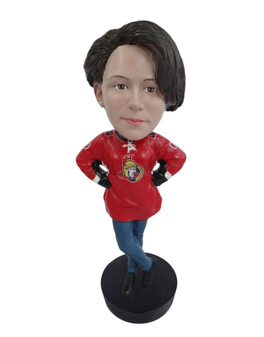 Ottawa Senators Female Fan Standard Base