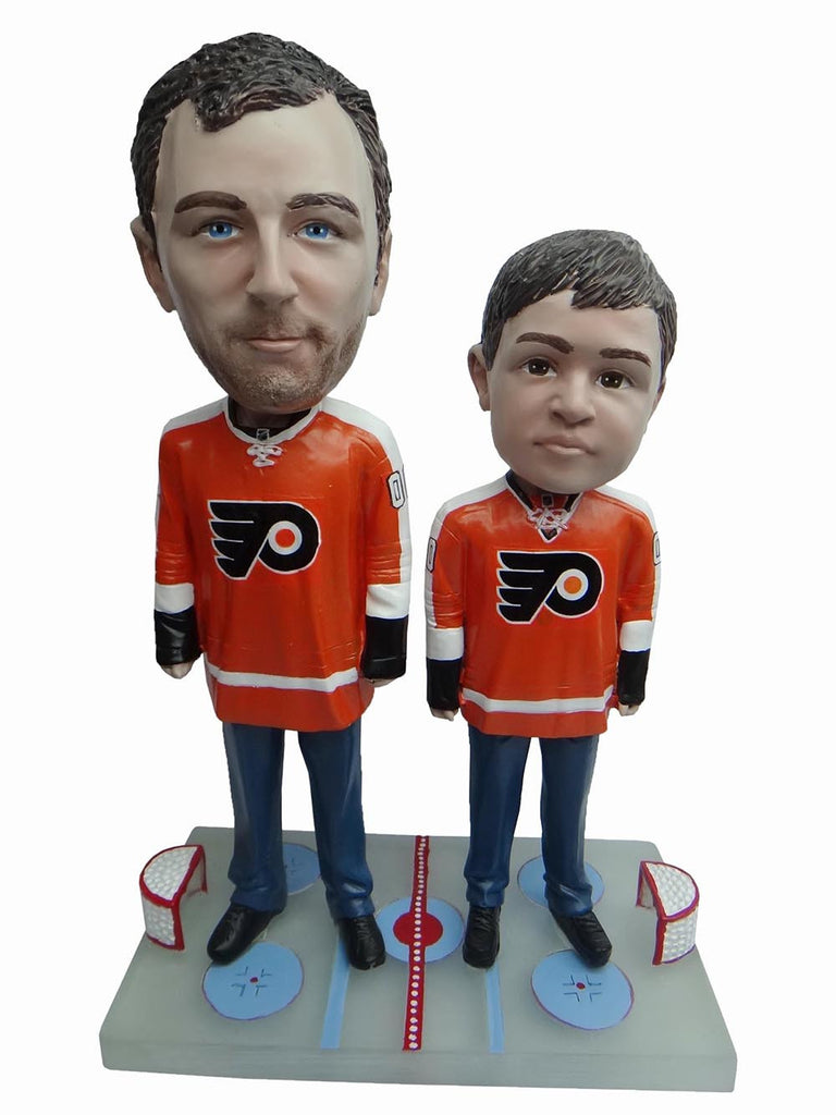 Philadelphia Flyers Father and Son Fans