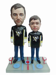 Pittsburgh Penguins Father and Son Fans