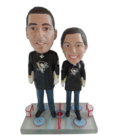 Pittsburgh Penguins Male and Female Fans