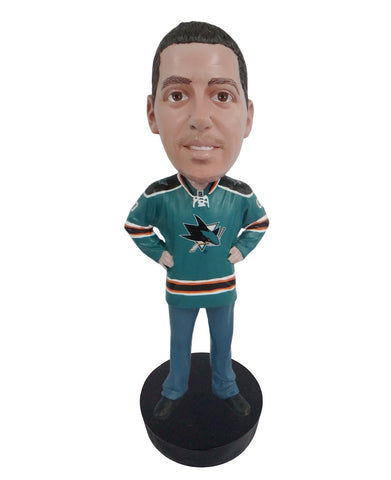 San Jose Sharks Male Fan Standard Base