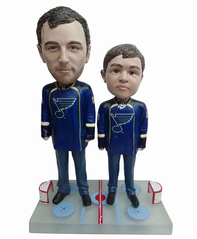 St Louis Blues Father and Son Fans