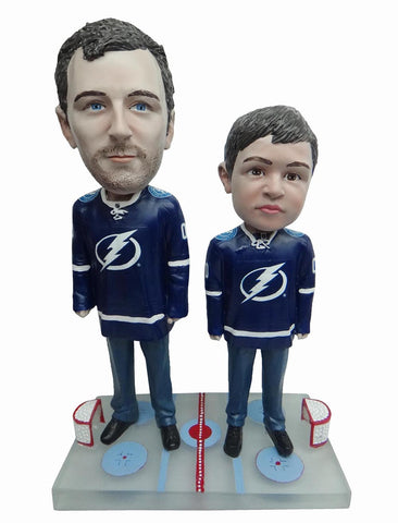 Tampa Bay Lightning Father and Son Fans