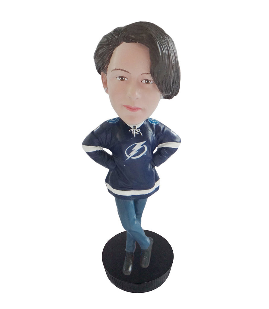 Tampa Bay Lightning Female Fan Standard Base