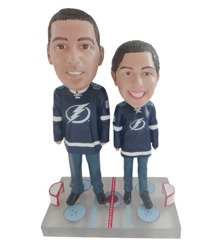 Tampa Bay Lightning Male and Female Fans