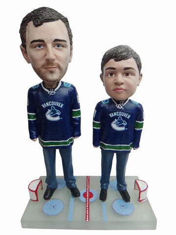 Vancouver Canucks Father and Son Fans
