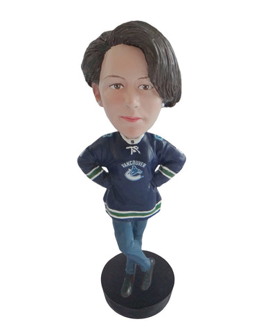 Vancouver Canucks Female Fan Standard Base