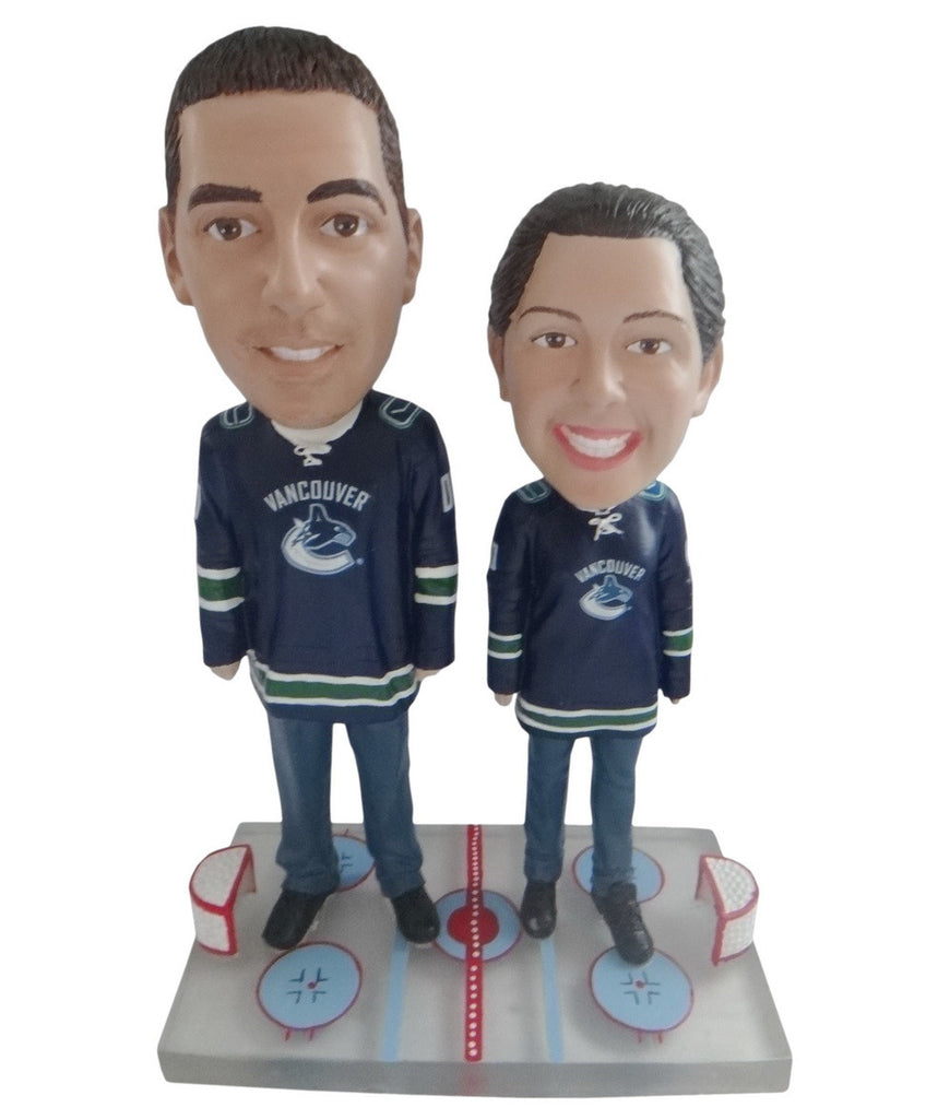 Vancouver Canucks Male and Female Fans