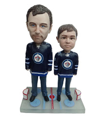 Winnipeg Jets Father and Son Fans