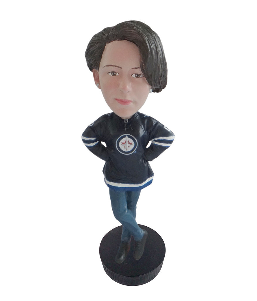 Winnipeg Jets Female Fan Standard Base