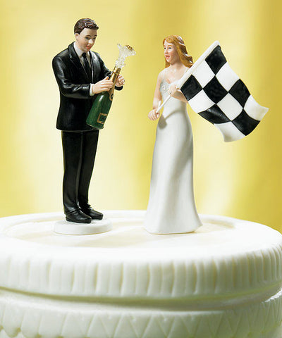 WEDDING CAKE TOPPER - C15