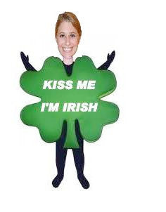 St Patricks Day Female Kiss Me