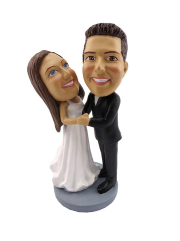 CUSTOM WEDDING CAKE TOPPER - H81CT