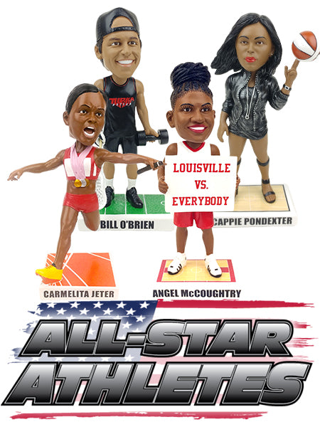 All Star Athlete Bobblehads