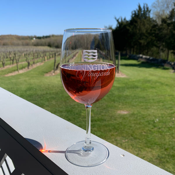 Glass of Triad Rose