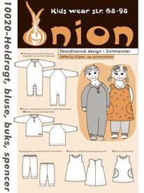 Onion 10020 - Heldragt, bluse, buks, spencer