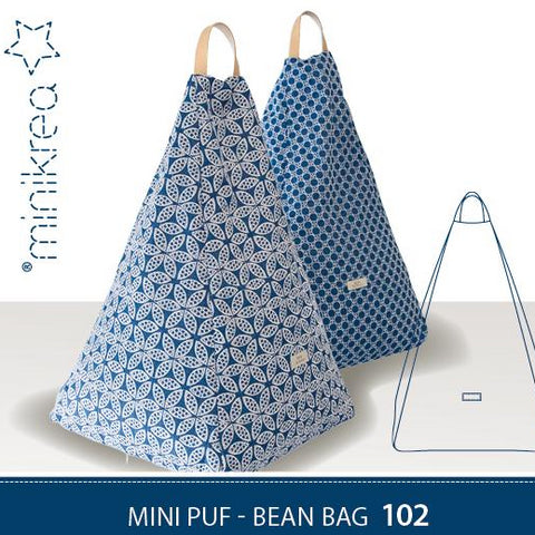 MiniKrea - 102 - Mini Puf bean bag