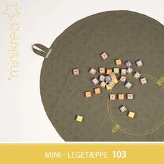 MiniKrea - 103 - Mini - Legetæppe