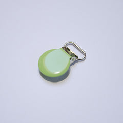 Metalclips - Rund - Lime