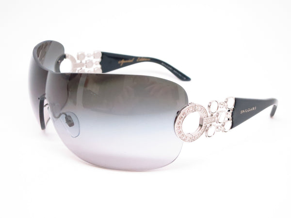 Bvlgari BV 6063B 102/8G Silver / Black Sunglasses - Eye Heart Shades - Bvlgari - Sunglasses - 1