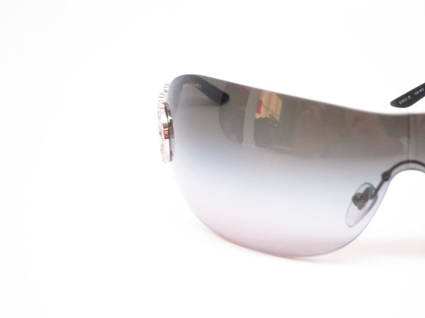 Bvlgari BV 6063B 102/8G Silver / Black Sunglasses - Eye Heart Shades - Bvlgari - Sunglasses - 4