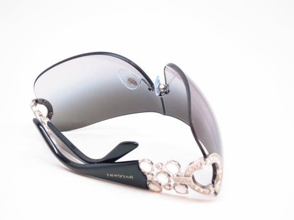 Bvlgari BV 6063B 102/8G Silver / Black Sunglasses - Eye Heart Shades - Bvlgari - Sunglasses - 8