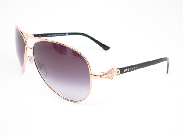 Bvlgari BV 6073B 376/8G Pink Gold Sunglasses - Eye Heart Shades - Bvlgari - Sunglasses - 1