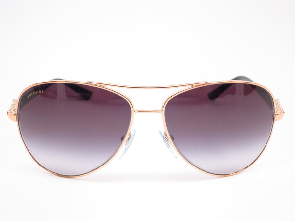 Bvlgari BV 6073B 376/8G Pink Gold Sunglasses - Eye Heart Shades - Bvlgari - Sunglasses - 2