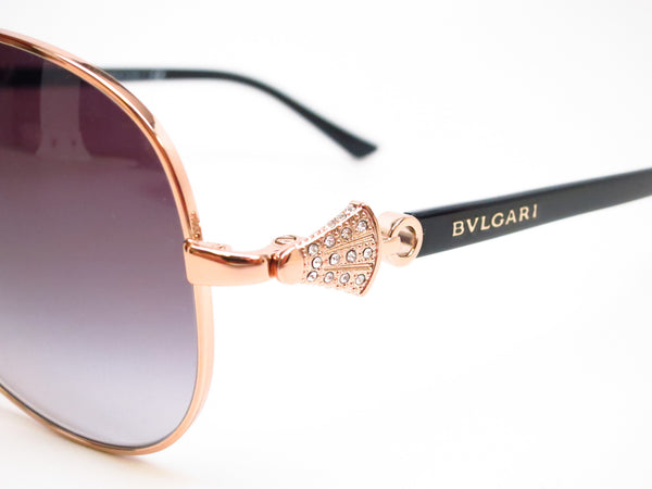 Bvlgari BV 6073B 376/8G Pink Gold Sunglasses - Eye Heart Shades - Bvlgari - Sunglasses - 3