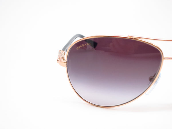 Bvlgari BV 6073B 376/8G Pink Gold Sunglasses - Eye Heart Shades - Bvlgari - Sunglasses - 4