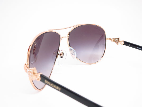 Bvlgari BV 6073B 376/8G Pink Gold Sunglasses - Eye Heart Shades - Bvlgari - Sunglasses - 6