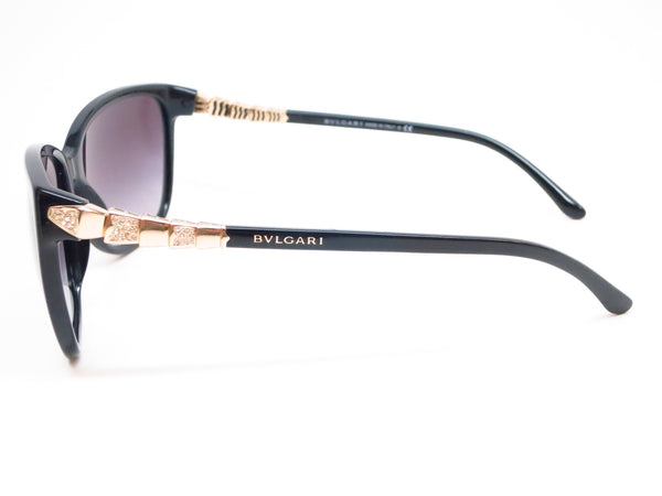 Bvlgari BV 8136B 501/8G Black Sunglasses - Eye Heart Shades - Bvlgari - Sunglasses - 5