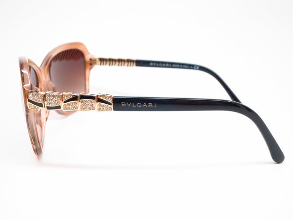 Bvlgari BV 8142B 5235/13 Striped Honey Sunglasses - Eye Heart Shades - Bvlgari - Sunglasses - 5