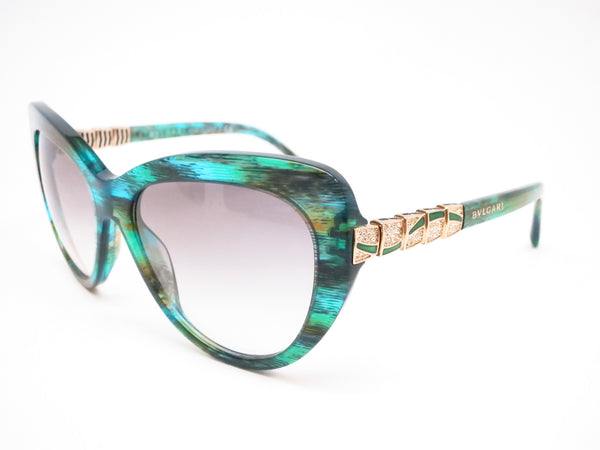 Bvlgari BV 8143B 5340/8E Green Aqua Sunglasses - Eye Heart Shades - Bvlgari - Sunglasses - 1